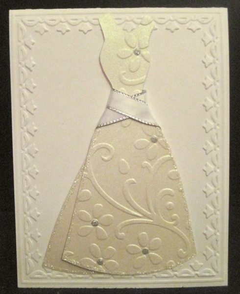 Stampin' Up Bridal Shower Card   Invite