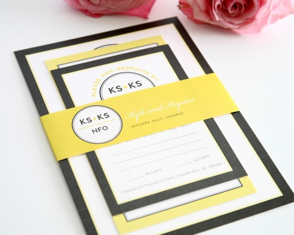 Great Yellow Wedding Invitations 18 Stunning Yellow And Grey