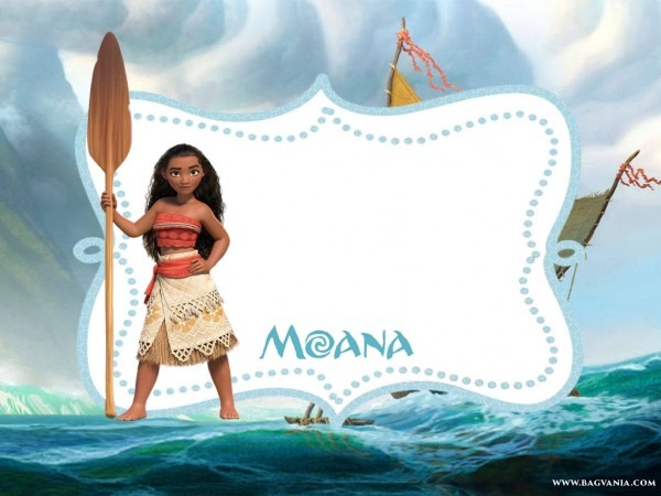 Amazing Free Printable Moana Invitation Template Free Printable