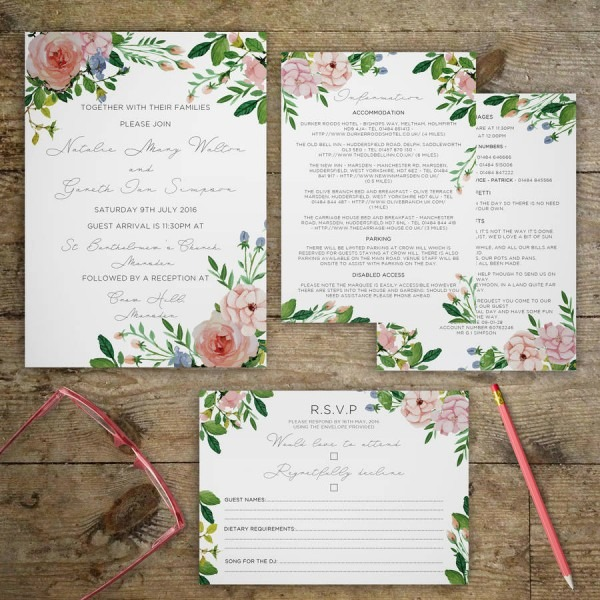 Garden Wedding Invitation From Festdude To Inspire You How To