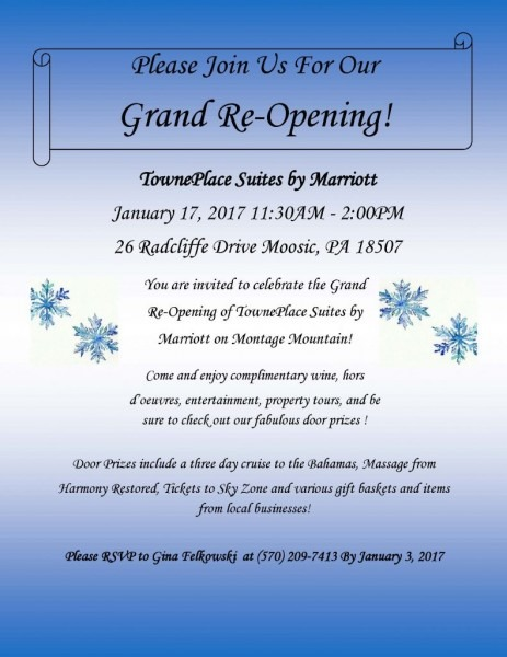 Towneplace Suites By Marriott Grand Reopening