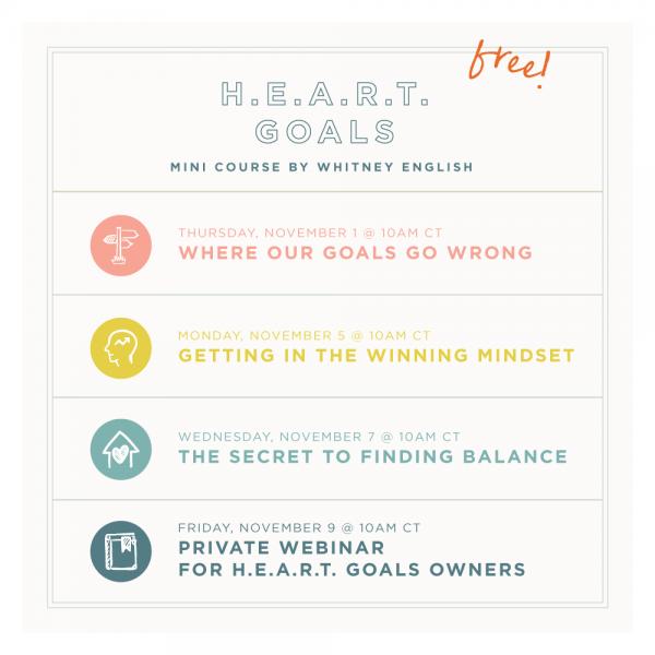 Free! Goal Setting Mini Course Starts Tomorrow!