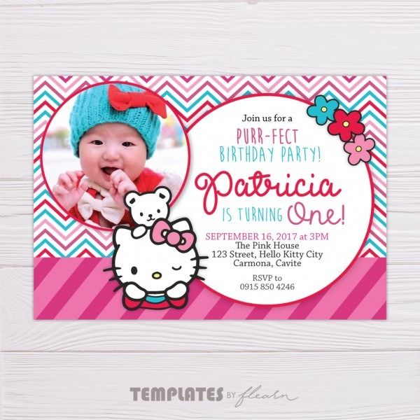 Pink Hello Kitty Invitation – Flearn Ph