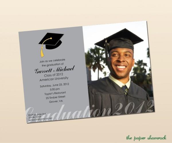 High School Graduation Invitation Templates