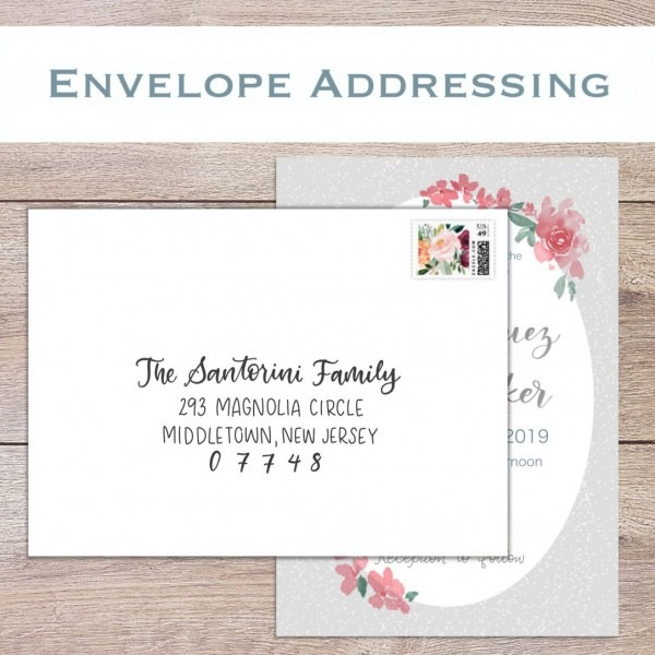 72 Finebeautiful Addressing Wedding Invitations To A Family High