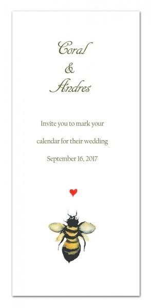 25 Bee Invitations Rehearsal Dinner Invitations Wedding