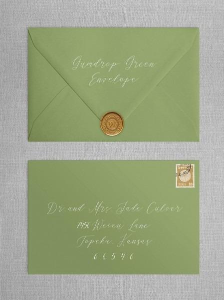 Colored A6 Envelopes Invitation Envelopes Custom Envelopes
