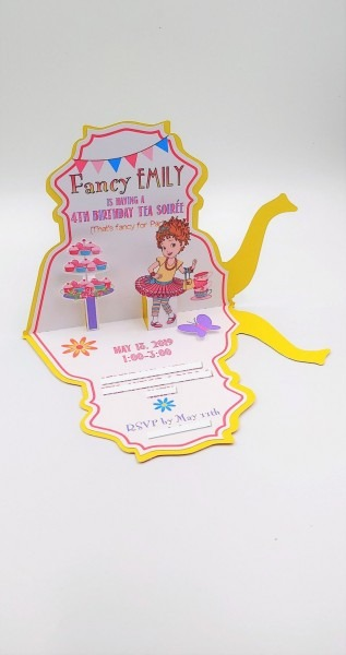 Fancy Nancy Birthday Invitation Fancy Nancy Party Fancy
