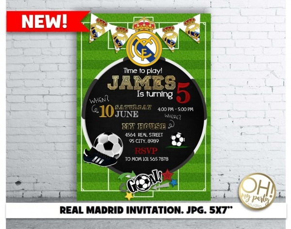 Real Madrid Invitationreal Madrid Partyreal Madrid