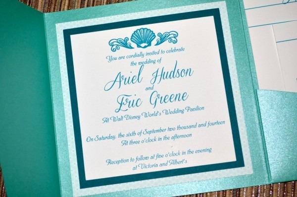 Fairy Tale Wedding Invitations