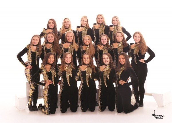 The Ashwaubenon Jaguaress Dance Team