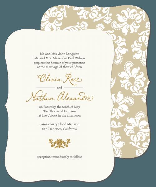 Incredible Marriage Invitation Sample Wedding Invitation Sample