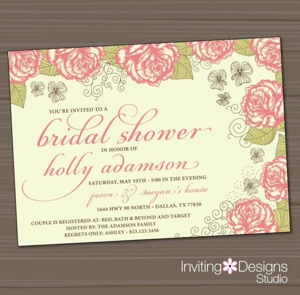 Baby Shower  Jack And Jill Baby Shower Invitations  The Flea