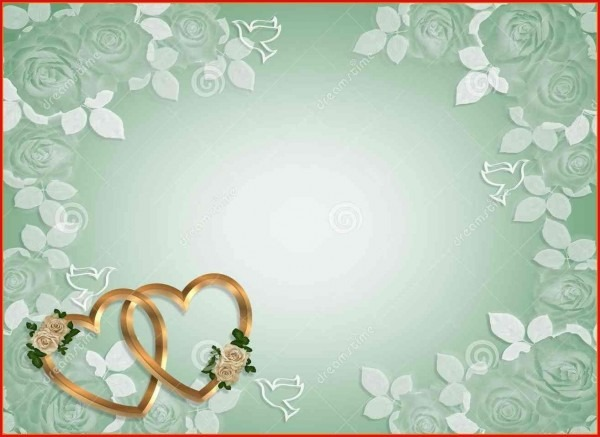 Invitation Card Templates 144732 4 Blank Wedding Invitation Card