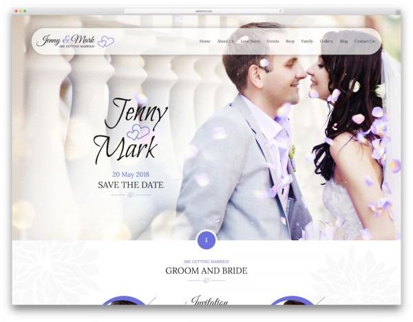Wedding Invitation Site