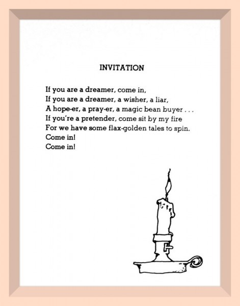 Invitation Poem Shel Silverstein