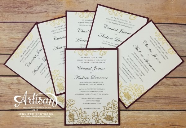 Sootywing Studios  Wedding Invitations