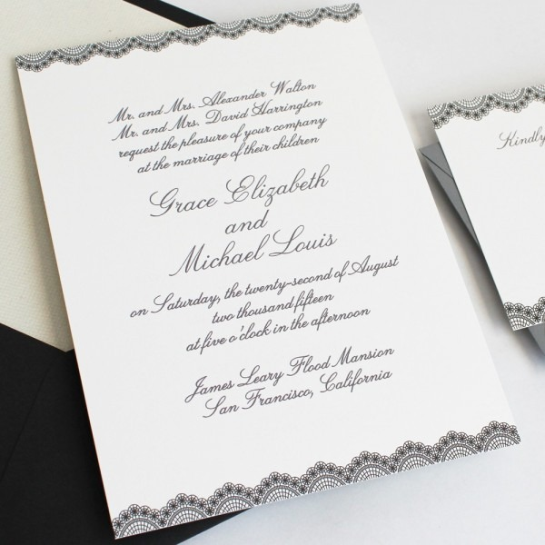 How To Word And Assemble Wedding Invitations