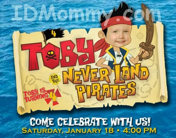 Id Mommy  Diy  Jake And The Neverland Pirates  Birthday Party!