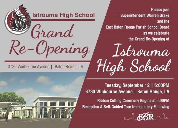 Istrouma High School Grand Re
