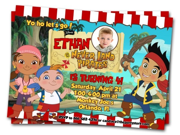 Pirate Birthday Card — Birthday Invitation Examples