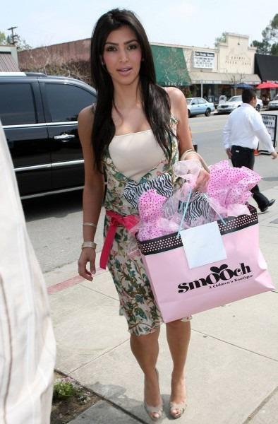 Kim Kardashian Baby Shower Invitation Card — Metalodic Decors