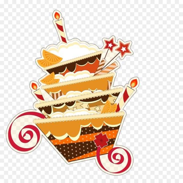Birthday Cake Cupcake Wedding Invitation Greeting Card