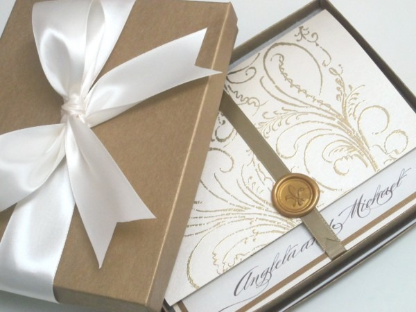 Luxury Wedding Invitations From Festdude Combined With Your Ideas