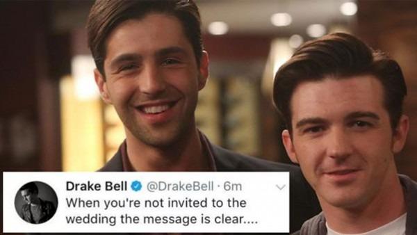 Drake Wasn't Invited To Josh's Wedding !