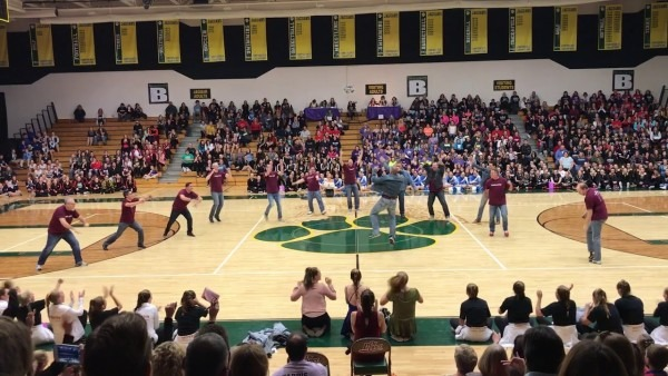 Middleton Dads Dance