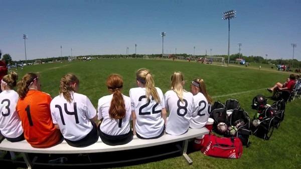 Adidas Premier Invitational And The Missouri Thorns 05 White Girls
