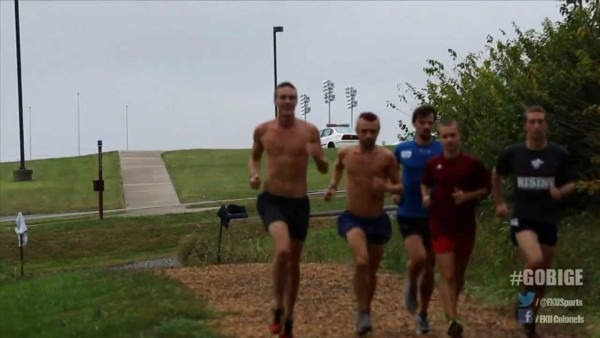 Eku Cross Country Prepares For The Wisconsin Adidas Invitational