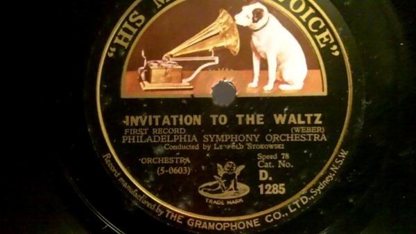 Weber  Invitation To The Waltz