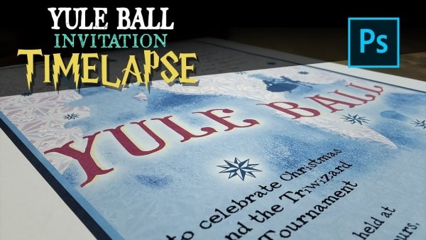 Harry Potter Yule Ball Invitation Replica