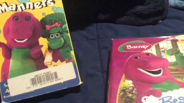 Barney's Best Manners Dvd Vhs Comparison (1993 2003 2004)