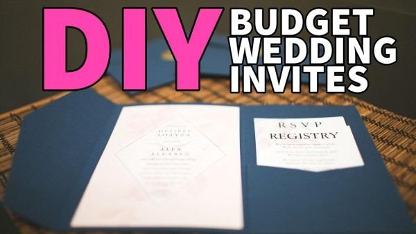Diy Wedding Invites & Wax Stamp!