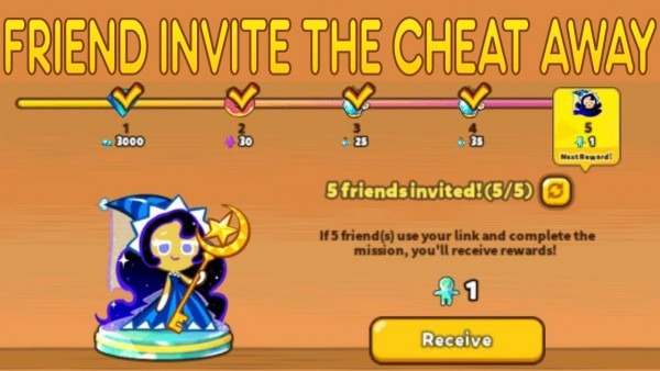 Friend Invite Event  The Easy Way