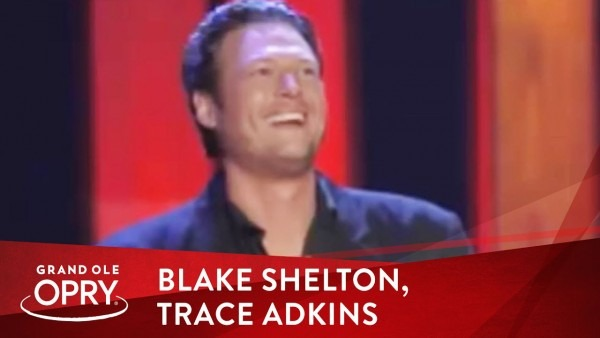 Blake Shelton Invited By Trace Adkins To Join The Grand Ole Opry