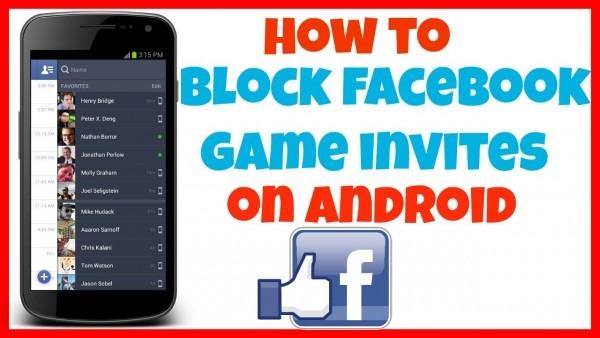 Facebook Block Game Invites