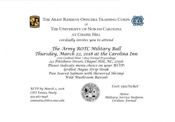 Let's Join The Army Rotc For A Military Ball – American Legion