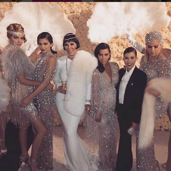 Kris Jenner's 1920's Themed 60th Birthday Party