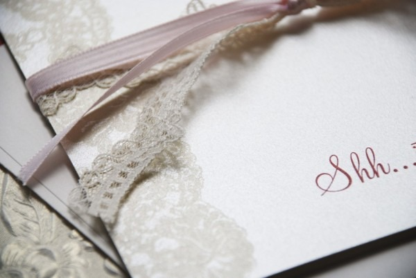 Vintage Lace 70th Surprise Birthday Invitation (pink Tan And Red)