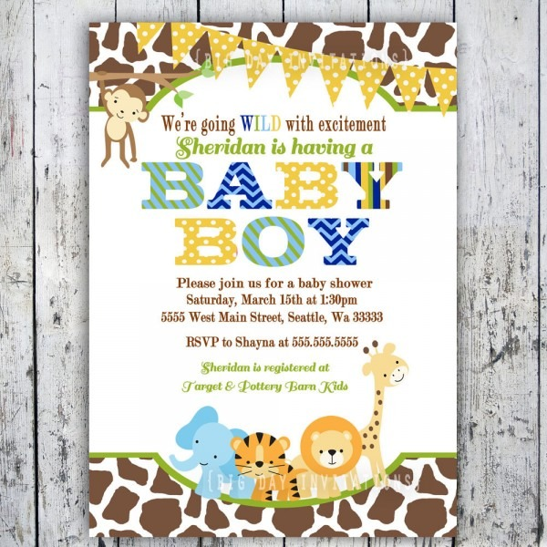 Printable Baby Shower Invitations Baby Shower Decoration How Much