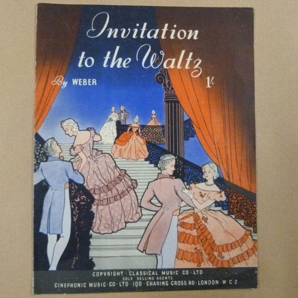 Piano Weber Invitation To The Waltz