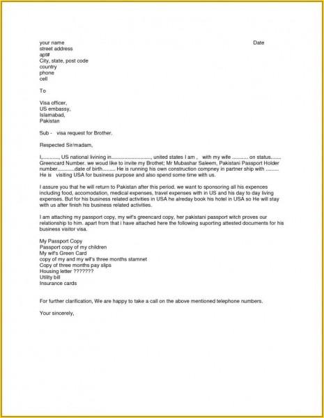 Sample Bank Letter For Us Visa New Lovely Formal Invitation Letter