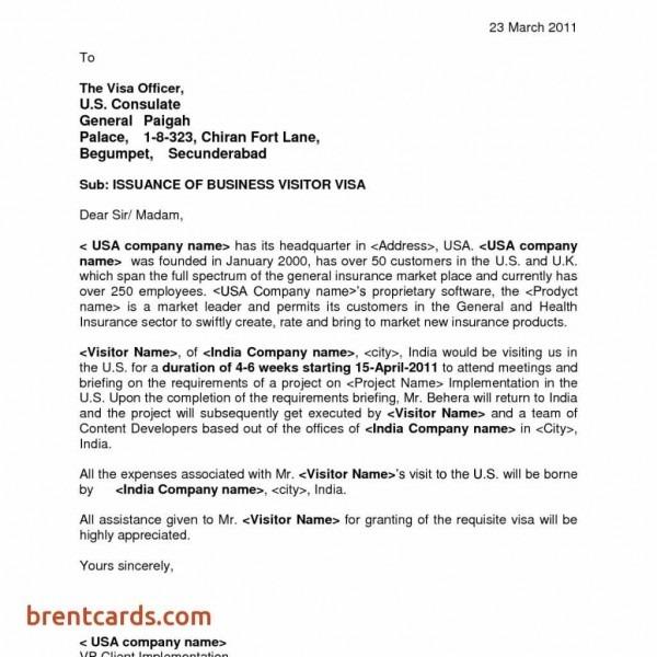 Sample Invitation Letter Visa Denmark