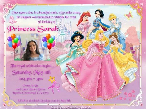 Disney Princess Images Sarah's Invitation Hd Wallpaper And