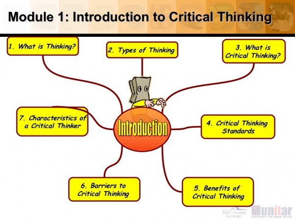 Barriers To Critical Thinking And Creative Thinking Essay Sample