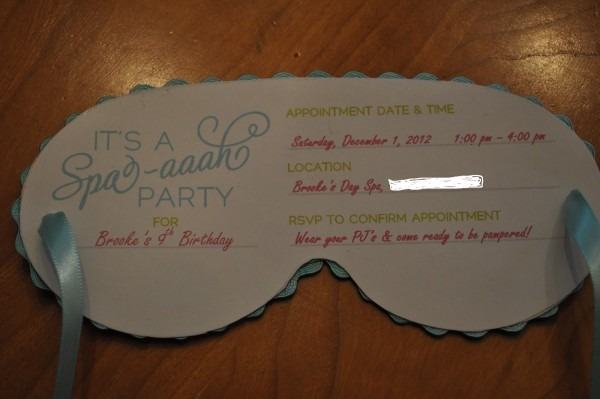 25 Images Of Spa Party Invitations Free Printable Mask Template