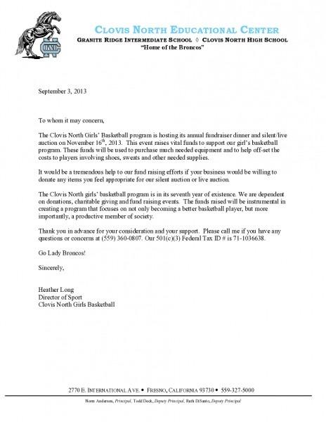 Sports Sponsor Letters Zoro Blaszczak Excellent And Cool Sample